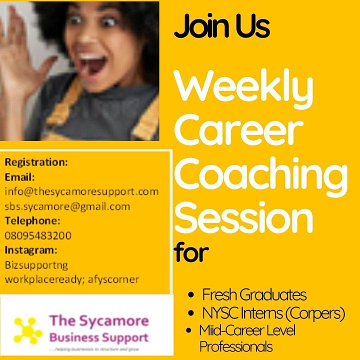 Virtual Career Coaching Session image
