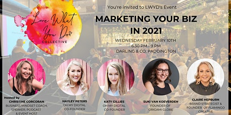 Marketing your Business in 2021 - February LWYD Collective Event tickets
