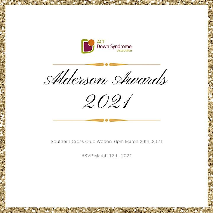 Alderson Awards 2021 image