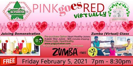 Tau Epsilon Omega Presents Pink Goes Red Zumba & Juicing! tickets