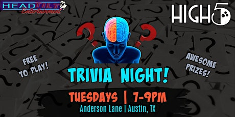 General Trivia at High 5! Anderson Lane tickets