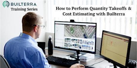 AutoCAD Civil 3D Quantity Takeoffs & Cost Estimating using Builterra tickets