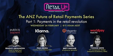 The ANZ Future of Retail Payments Series Part 1 tickets
