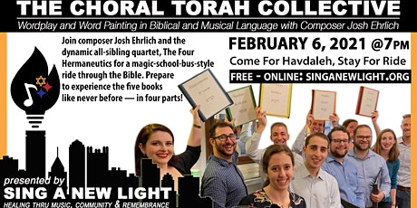 Sing A New Light presents The Choral Torah tickets