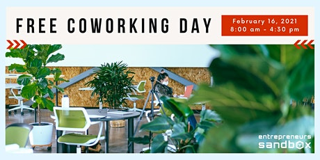 Free Coworking Day tickets