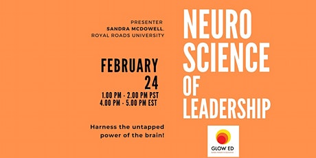 Neuroscience of Leadership: Harness the untapped power of the brain! tickets