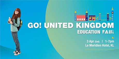 Go! United Kingdom Education Fair tickets