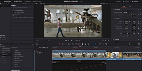 DaVinci Resolve – Introduction to Video Editing (1x3hrs) tickets