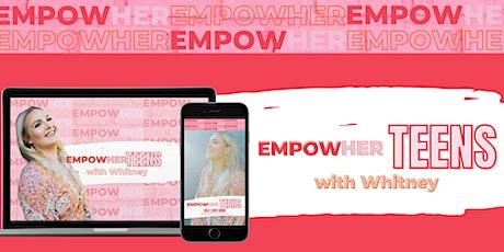 EmpowHER Teen Queens & Mums Self-love Workshop tickets
