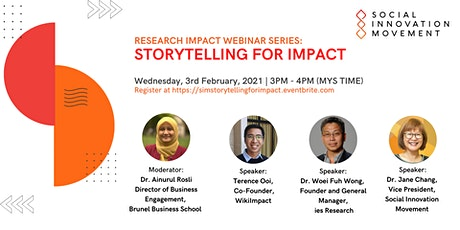 Storytelling For Impact tickets