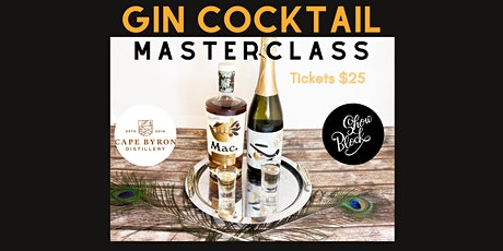 Gin Cocktail Masterclass tickets