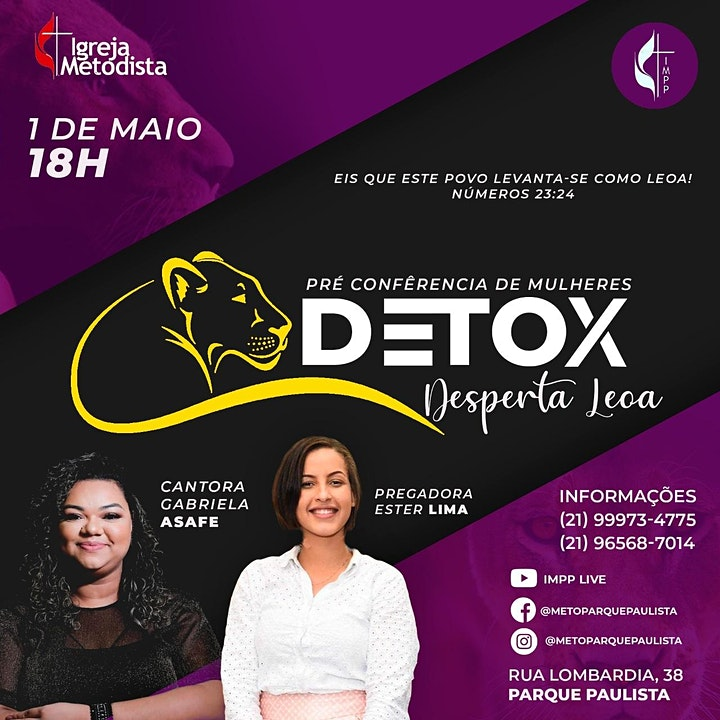 Imagem do evento DETOX mulheres
