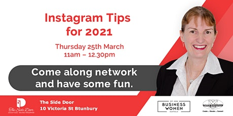 Bunbury, Business Women Australia: Instagram Tips for 2021 tickets