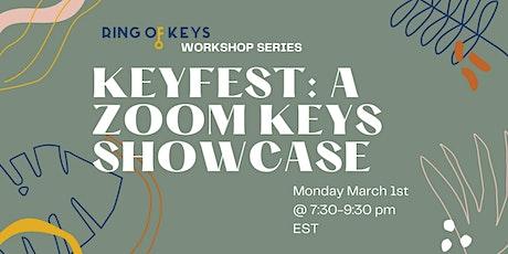 KeyFest: A Zoom Showcase tickets