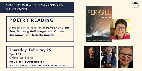 Poetry Reading: Perigee by Diane Kerr w/ Langstroth, Bacharach, and Gainey tickets