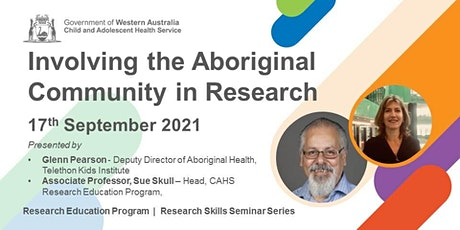 Involving the Aboriginal Community in Research - 17 Sep tickets