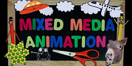 Mixed Media Animation - Kids Reboot STEAM Club tickets