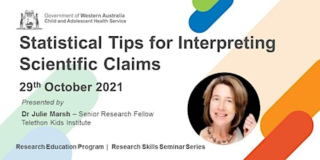 Statistical Tips for Interpreting Scientific Claims - 29 Oct tickets