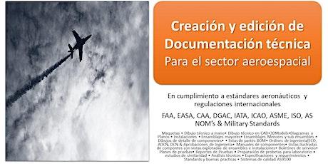 Master Class: Creación y Edición de  Documentación Técnica Aeroespacial entradas