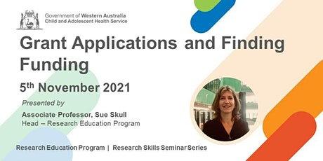 Grant Applications and Finding Funding - 5 Nov tickets