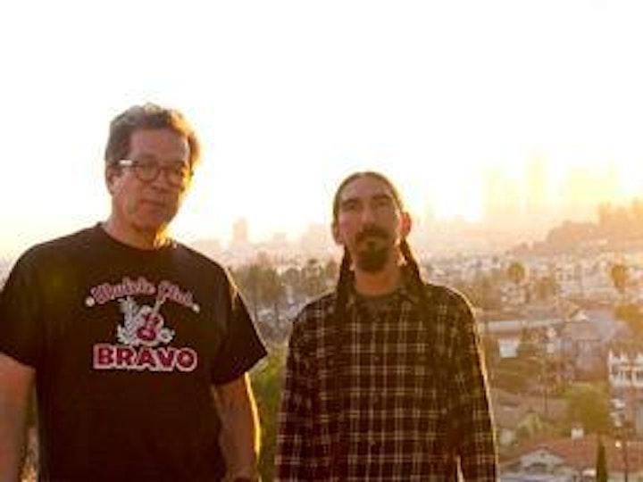 Sesshu Foster and Arturo Ernesto Romo with Carribean Fragoza image
