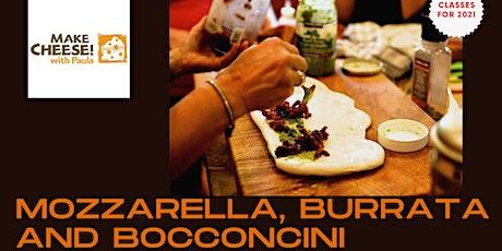Mozzarella, Burrata and Bocconcini and Feta tickets