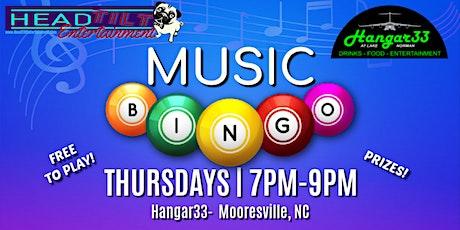 Music Bingo at Hangar 33 tickets