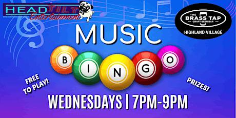 Music Bingo at The Brass Tap - Highland Village, TX tickets