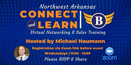 AR | Northwest Arkansas Virtual - Networking & Sales Training Luncheon tickets