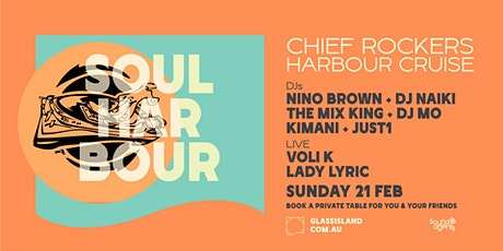Glass Island pres. Chiefrockers - Summer Sunset Cruise - Sun 21st February tickets