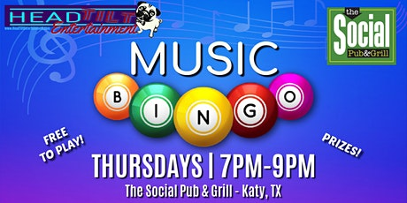 Music Bingo at The Social Pub & Grill tickets