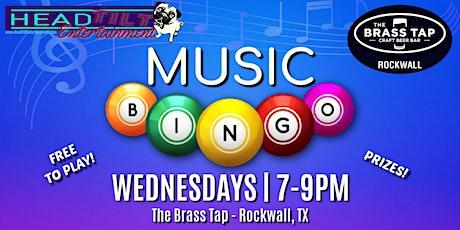 Music Bingo at The Brass Tap- Rockwall,TX tickets