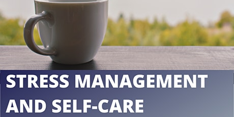 Manage Your Stress - Look After Yourself tickets