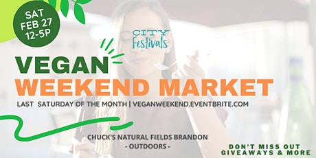 Vegan Weekend Market tickets