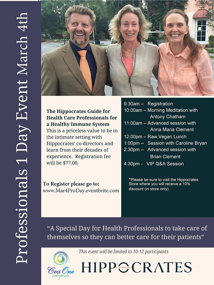 One-Day Professionals Event at Hippocrates image