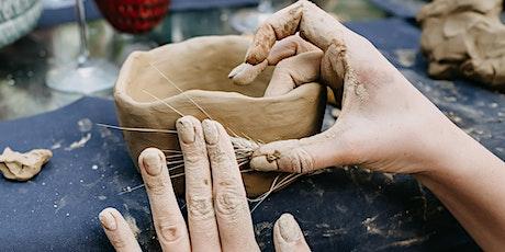 SUNDAY WELLBEING WORKSHOP:  Make a Pinch Pot Tea Bowl tickets