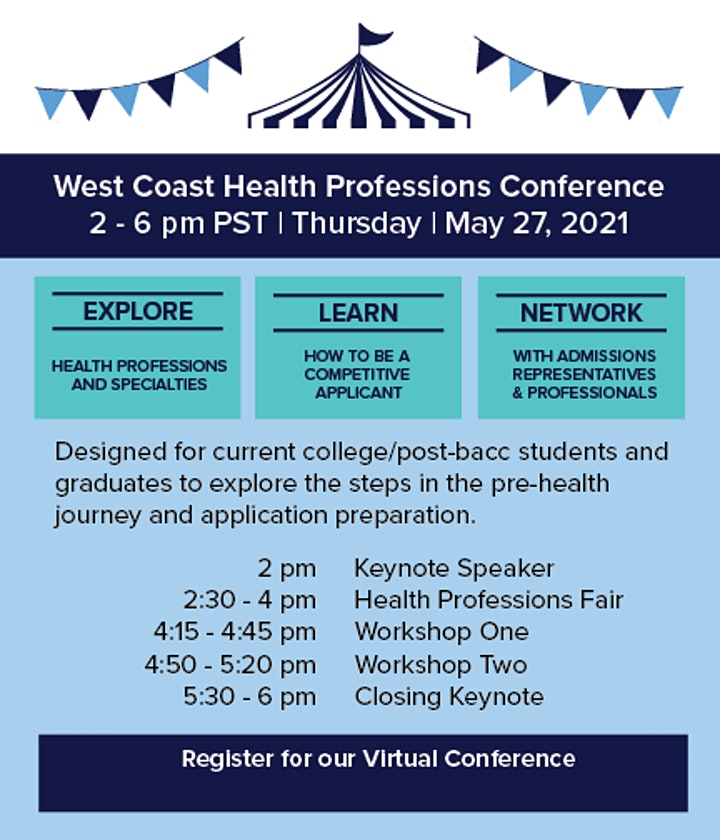 2021 West Coast Health Professions Conference image