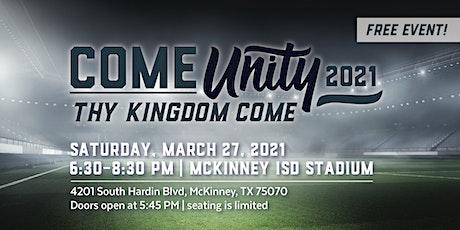 ComeUnity 2021 - Thy Kingdom Come tickets