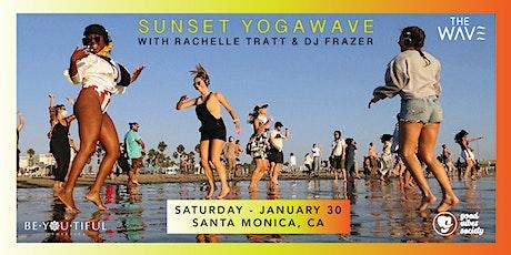 Sunset Beach YogaWave - Sat Jan. 30 tickets