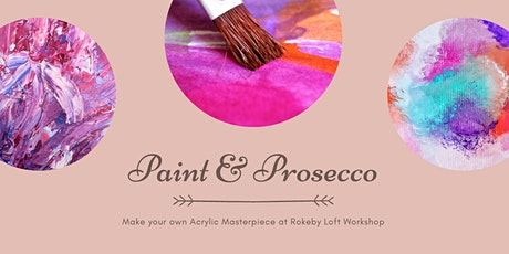 Paint and Prosecco tickets