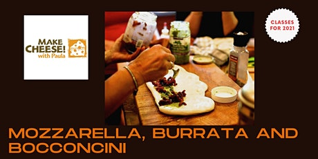 Mozzarella, Burrata and Bocconcini tickets