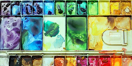 SUNDAY WELLBEING WORKSHOP: Watercolour Patterns for Mindfulness tickets