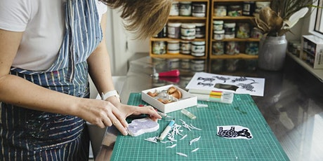 Hand Stamped Fabric Printing Workshop tickets