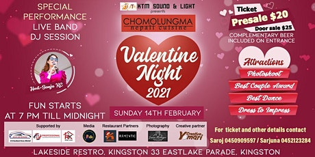 Valentine Night 2021 tickets