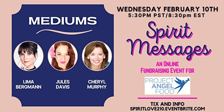 Spirit Messages  - Fundraiser for Project Angel Food tickets