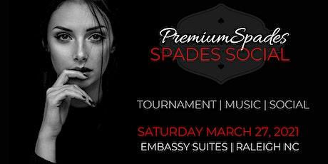 PremiumSpades | Spades Social | RALEIGH NC tickets
