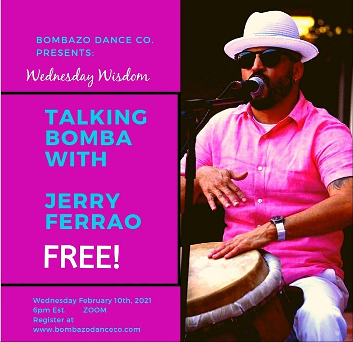 Talking/Hablando Bomba  with Jerry Ferrao image