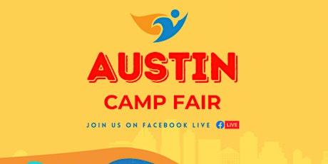 Austin  Camp Fair - Free Online Event! tickets