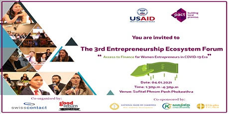 "The 3rd Entrepreneurship Ecosystem Forum  ""Access to Finance "" tickets"