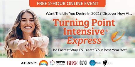 """Free 2-Hour Online Event: """"Turning Point Intensive Express"""" – Feb 2 tickets"""